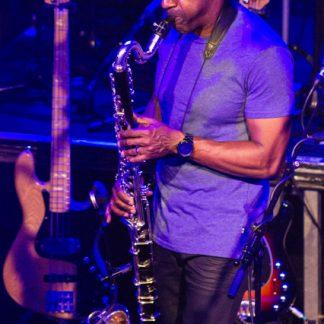 Marcus Miller mit Klarinette