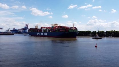 HMM Alcegrias in Hamburg